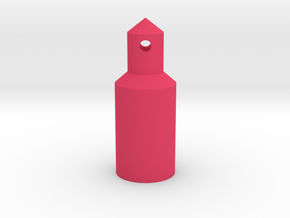 Round Battery/Body Post  in Pink Processed Versatile Plastic