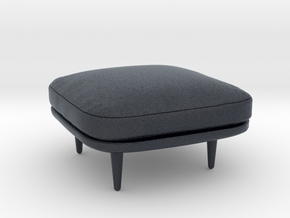 Miniature Fly Pouf - &Tradition  in Black Professional Plastic: 1:12