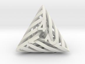 Helix d4 in White Natural Versatile Plastic