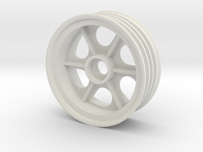 tamiya astute front right wheel in White Natural Versatile Plastic