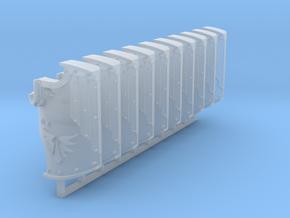 Red Ángeles Boarding Shields x10 #1 in Smooth Fine Detail Plastic