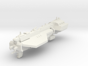 UNSC Assault carrier Defiant in White Natural Versatile Plastic