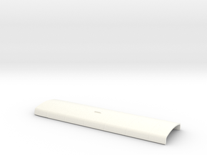 1:43 LT RF Central/Country Roof in White Processed Versatile Plastic