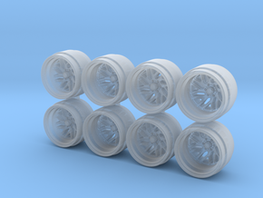 FF29 Truck 9mm Hot Wheels Rims in Smoothest Fine Detail Plastic