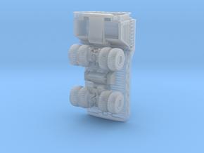Belaz75710 dump truck in Smoothest Fine Detail Plastic: 1:400