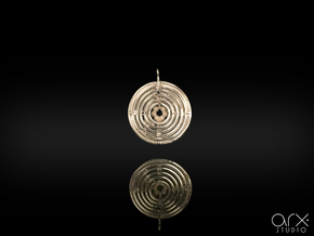 Asterion's Pendant in Polished Silver