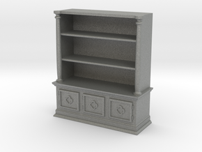 Bookshelf, Square - 1:48 in Gray PA12