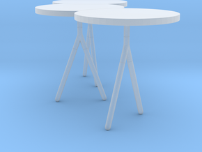 Miniature Itisy Table - Ligne Roset in Smooth Fine Detail Plastic: 1:12