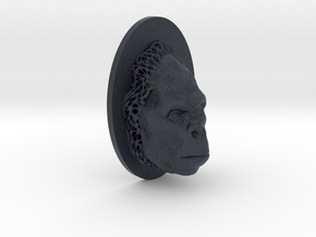 Gorilla Full Face + Voronoi Support in Black PA12
