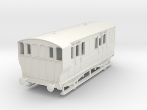 o-76-ger-wisbech-4w-brake-coach-no16-1 in White Natural Versatile Plastic