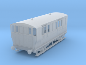 o-148fs-ger-wisbech-4w-brake-coach-no16-1 in Smooth Fine Detail Plastic