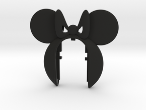 MINIE MOUSE  #a1 in Black Natural Versatile Plastic