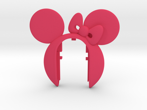 MINIE MOUSE #a3 in Pink Processed Versatile Plastic