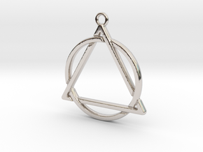 Circle and triangle intertwined in Platinum
