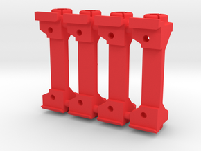 PSSW00201_4 set of 4 adapter for Sideways motor mo in Red Processed Versatile Plastic