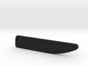 KOTFLUEGELEMBLEM_80MMX15MM_RECHTS in Black Natural Versatile Plastic