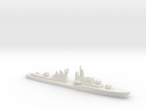 HMAS Vampire, 1/1800 in White Natural Versatile Plastic