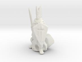 HO Scale Inquisitor in White Natural Versatile Plastic