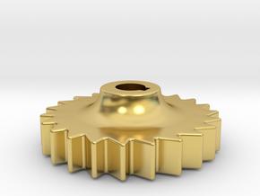 "D&RG Brake Rachet - 2.5"" scale in Polished Brass"