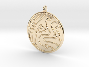 Geology Symbol in 14K Yellow Gold
