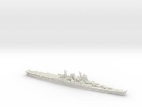 IJN CA Mogami [1944] (aircraft cruiser) in White Natural Versatile Plastic: 1:1800
