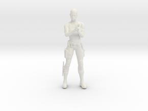 Printle V Femme 1108 - 1/32 - wob in White Natural Versatile Plastic