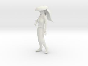 Printle V Femme 1110 - 1/32 - wob in White Natural Versatile Plastic