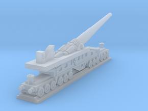 340mm/45 Modèle 1912 Railroad Gun (France) in Smooth Fine Detail Plastic