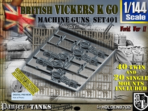 1/144 Vickers K GO Set401 in Smoothest Fine Detail Plastic