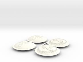 ETHAN 17  in White Processed Versatile Plastic