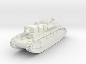 Char 2C (FCM2C) France in White Natural Versatile Plastic