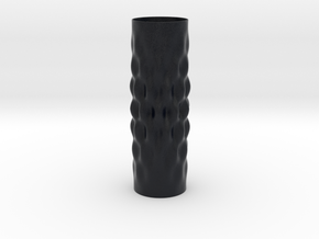 Surcos Vase in Matte Full Color Sandstone