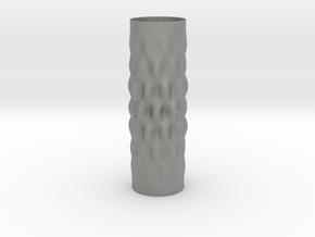 Surcos Vase in Gray PA12
