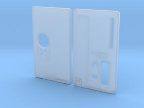 Sportello Billet Box Rev4  variante 2 in Smooth Fine Detail Plastic