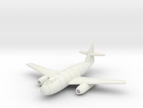 (1:144) Messerschmitt Me P.1100/I in White Natural Versatile Plastic