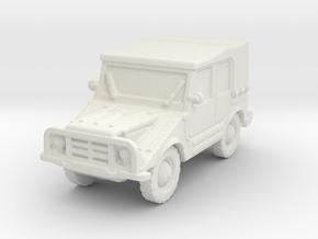 DKW Munga 4 scaale 1/87 in White Natural Versatile Plastic