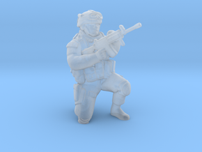 Soldier 12 no base (1:64 Scale) in Smooth Fine Detail Plastic