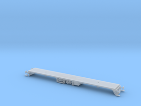 Class 87 Chassis (Bulgarian) in Smooth Fine Detail Plastic: 1:148