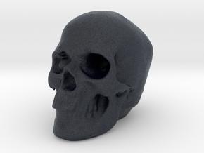 Skull 3DXS in Black Professional Plastic