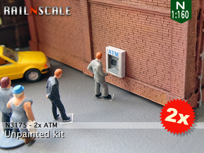 2x ATM (N 1:160) in Smooth Fine Detail Plastic
