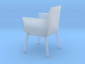 Miniature Alina Armchair - Giorgetti Meda in Smooth Fine Detail Plastic: 1:12