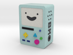mini BMO no arms and no legs in Full Color Sandstone: Medium