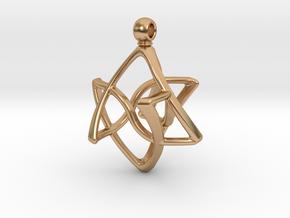 INFINITE in Polished Bronze