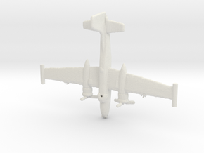 1:700 A-26K Counter Invader  in White Natural Versatile Plastic