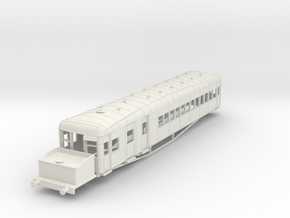 o-87-lner-clayton-steam-railcar-d92 in White Natural Versatile Plastic