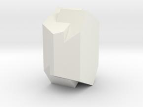Orthoclase 065 in White Natural Versatile Plastic