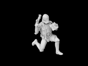 (1/47) Clone Commander Gree in Smooth Fine Detail Plastic