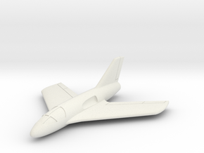 (1:144) Messerschmitt Me P.1112 S/1 in White Natural Versatile Plastic