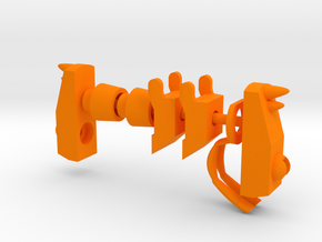 Lobros Orange Parts in Orange Processed Versatile Plastic: Large