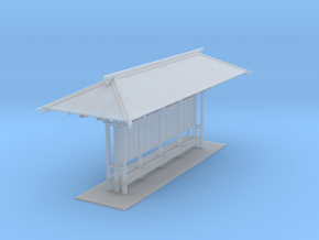 LAPAC Shelter N Scale in Smooth Fine Detail Plastic